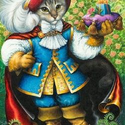 Пазл онлайн: Кот в сапогах