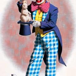 Пазл онлайн: Клоуны