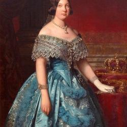 Пазл онлайн: Портрет Изабеллы II