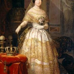 Пазл онлайн: Изабелла II, королева Испании