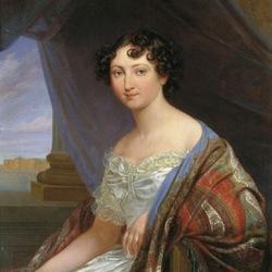 Пазл онлайн: Портрет великой княжны Анны Павловны