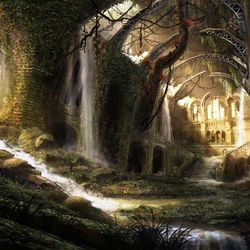 Пазл онлайн: Заброшенный храм