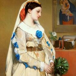 Пазл онлайн: Сицилийская невеста