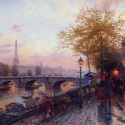 Пазл онлайн: Париж. Эйфелева башня