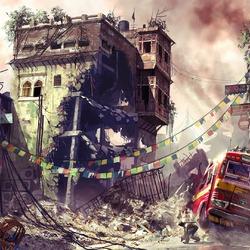 Пазл онлайн: После катастрофы