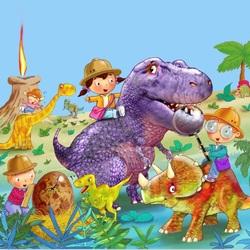 Пазл онлайн: Динозаврия