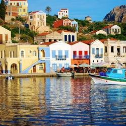 Пазл онлайн: Кастелоризо, Греция