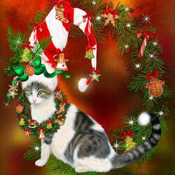 Пазл онлайн: Рождественские мечты