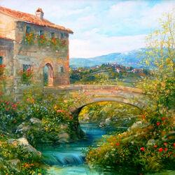 Пазл онлайн: Старый мост