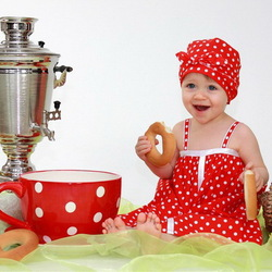 Пазл онлайн: Русское чаепитие