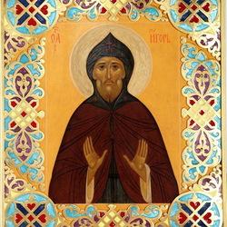 Пазл онлайн: Икона Святой Игорь