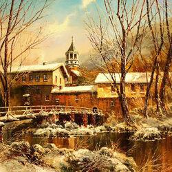 Пазл онлайн: Дряновский монастырь в Болгарии