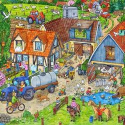 Пазл онлайн: Сельская жизнь
