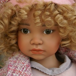 Пазл онлайн: Кукла