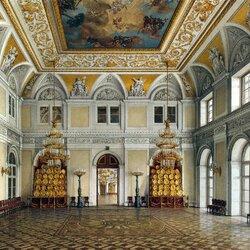 Пазл онлайн: Виды залов Эрмитажа