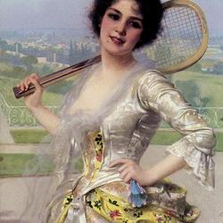 Пазл онлайн: Теннис