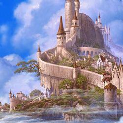 Пазл онлайн: Замок белого дракона