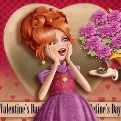 Пазл онлайн: День Святого Валентина