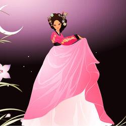 Пазл онлайн: Лунный танец