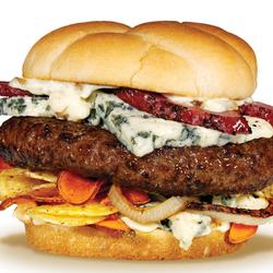 Пазл онлайн: Бургер
