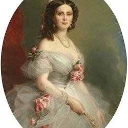 Пазл онлайн: Женский портрет