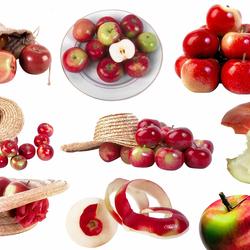 Пазл онлайн: Сочные яблочки