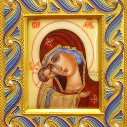Пазл онлайн: Игоревская икона Божьей Матери