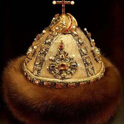 Пазл онлайн: Царский головной убор