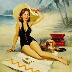 Пазл онлайн: День на пляже