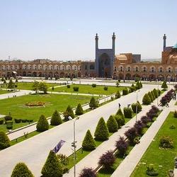 Пазл онлайн: Мечеть Имама, Исфахан, Иран