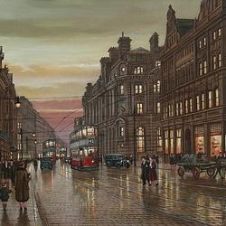 Пазл онлайн: Манчестер. Кросс-стрит