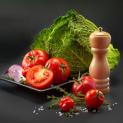 Пазл онлайн: Салатное