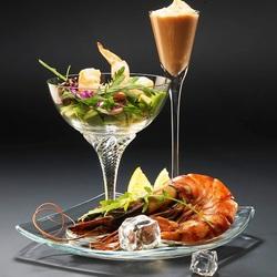 Пазл онлайн: Коктейль морепродуктов