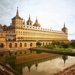 Пазл онлайн: Монастырь в Испании