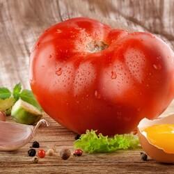 Пазл онлайн: Сочный томат