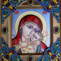 Пазл онлайн: Корсунская икона Божьей Матери