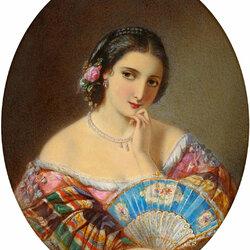 Пазл онлайн: Портрет девушки юга Италии