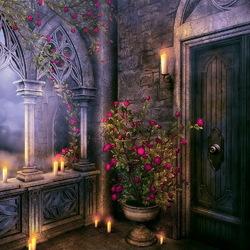Пазл онлайн: В старом замке