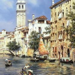 Пазл онлайн: Солнечная Венеция
