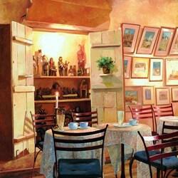 Пазл онлайн: В парижском кафе
