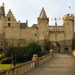 Пазл онлайн: Замок Стен. Бельгия