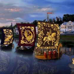 Пазл онлайн: Торжок-центр золотошвейного искусства