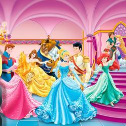 Пазл онлайн: Принцессы на балу