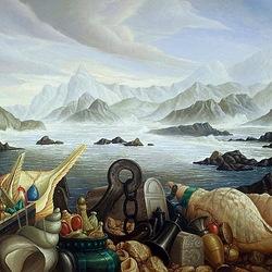 Пазл онлайн: Дары моря