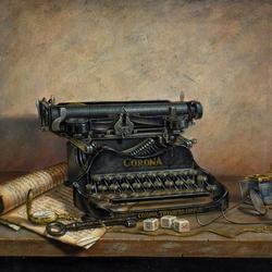 Пазл онлайн: Пишущая машинка