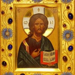Пазл онлайн: Икона Господь Вседержитель