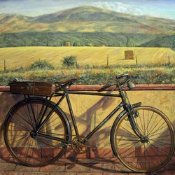 Пазл онлайн: Велосипед