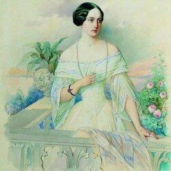 Пазл онлайн: Великая княгиня Ольга Николаевна