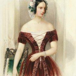Пазл онлайн: Портрет великой княжны Александры Николаевны