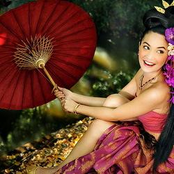 Пазл онлайн: Яркие краски Азии